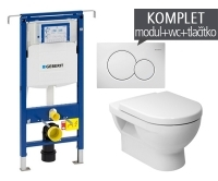 Závěsný WC komplet T-07 Duofix Special + Cubito klozet závěsný, T-07 JCU, Geberit