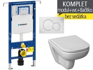 Závěsný WC komplet T-07 Duofix Special + Deep klozet závěsný 51 cm\