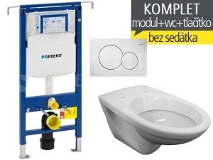 Závěsný WC komplet T-07 Duofix Special + EP klozet závěsný