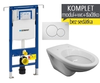 Závěsný WC komplet T-07 Duofix Special + EP klozet závěsný, T-07, Geberit