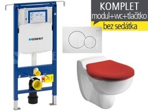 Závěsný WC komplet T-07 Duofix Special + Kind klozet dětský
