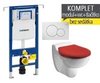 Závěsný WC komplet T-07 Duofix Special + Kind klozet dětský, T-07 KKI, Geberit