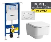 Závěsný WC komplet T-07 Duofix Special + Laufen Pro S klozet závěsný, T-07 LPS, Geberit