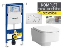 Závěsný WC komplet T-07 Duofix Special + Laufen Pro S Rimless klozet závěsný, T-07 LPS R, Geberit