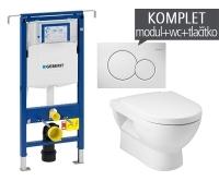 Závěsný WC komplet T-07 Duofix Special + Mio klozet závěsný, T-07 JMI, Geberit
