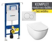 Závěsný WC komplet T-07 Duofix Special + Mio-N klozet závěsný, T-07 JMN, Geberit