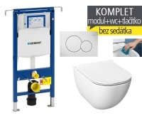 Závěsný WC komplet T-07 Duofix Special + Mio-N Rimless klozet závěsný, T-07 JMR, Geberit