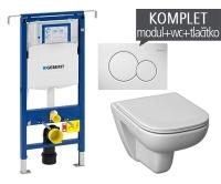 Závěsný WC komplet T-07 Duofix Special + Olymp Deep klozet závěsný, T-07 JOD, Geberit