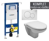 Závěsný WC komplet T-07 Duofix Special + Olymp klozet závěsný, T-07 JOL, Geberit