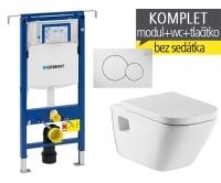 Závěsný WC komplet T-07 Duofix Special + The Gap klozet závěsný, T-07 RGA, Geberit