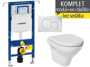 Závěsný WC komplet T-07 Duofix Special + Tigo klozet závěsný 49 cm
