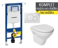 Závěsný WC komplet T-07 Duofix Special + Tigo klozet závěsný, T-07 JTI, Geberit