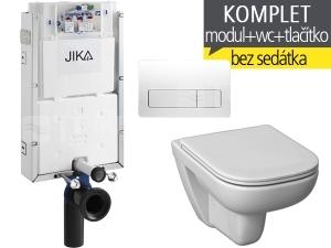 Závěsný WC komplet T-10 JIKA pro zazdění + Deep klozet závěsný 51 cm