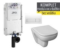 Závěsný WC komplet T-10 JIKA pro zazdění + Deep klozet závěsný, T-10 JOL, Jika