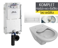 Závěsný WC komplet T-10 JIKA pro zazdění + Dino Rimless klozet závěsný, T-10 JDR, Jika
