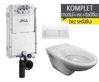 Závěsný WC komplet T-10 Jika pro zazdění + EP klozet závěsný, T-10, Jika