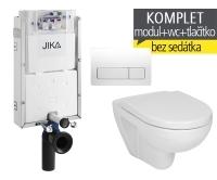 Závěsný WC komplet T-10 JIKA pro zazdění + Lyra plus klozet závěsný, T-10 JLY, Jika