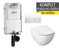 Závěsný WC komplet T-10 JIKA pro zazdění + Mio-N klozet závěsný, T-10 JMN, Jika
