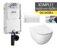 Závěsný WC komplet T-10 JIKA pro zazdění + Mio-N Rimless klozet závěsný, T-10 JMR, Jika