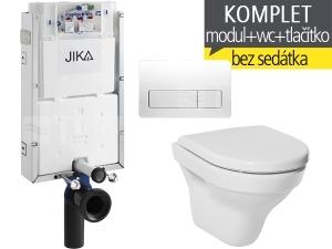 Závěsný WC komplet T-10 JIKA pro zazdění + Tigo klozet závěsný 49 cm