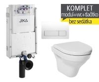 Závěsný WC komplet T-10 JIKA pro zazdění + Tigo klozet závěsný, T-10 JTI, Jika