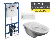 Závěsný WC komplet T-11 Jika do sádrokartonu + EP klozet závěsný, T-11, Jika