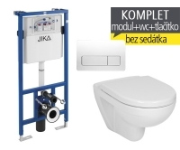 Závěsný WC komplet T-11 JIKA do sádrokartonu + Lyra plus klozet závěsný, T-11 JLY, Jika