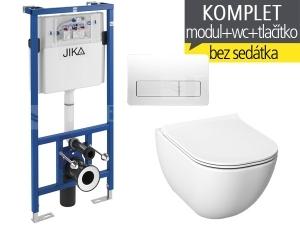 Závěsný WC komplet T-11 JIKA do sádrokartonu + Mio-N klozet závěsný