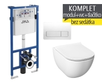 Závěsný WC komplet T-11 JIKA do sádrokartonu + Mio-N klozet závěsný, T-11 JMN, Jika