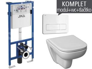Závěsný WC komplet T-11 JIKA do sádrokartonu + Olymp Deep klozet závěsný
