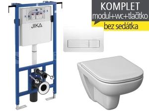 Závěsný WC komplet T-12 JIKA do bytových jader + Deep klozet závěsný 51 cm