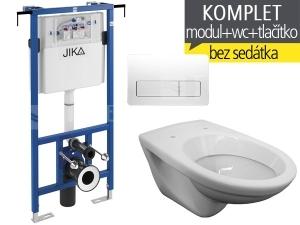 Závěsný WC Komplet T-12 Jika do bytových jader + EP klozet závěsný