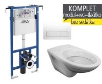Závěsný WC Komplet T-12 Jika do bytových jader + EP klozet závěsný, T-12, Jika