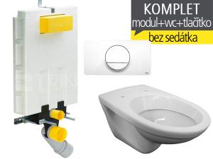 Závěsný WC komplet T-20 Viega pro zazdění + EP klozet závěsný