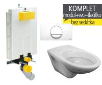 Závěsný WC komplet T-20 Viega pro zazdění + EP klozet závěsný, T-20, Viega