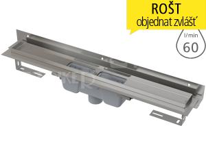 Žlab podlahový APZ1004 Flexible pro perforovaný rošt