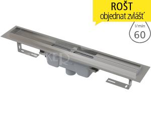 Žlab podlahový APZ1006 Professional pro plný rošt 750 mm, spodní odtok 50 mm