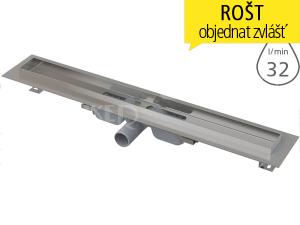 Žlab podlahový APZ106 Professional LOW pro plný rošt 300 mm, boční odtok 40 mm