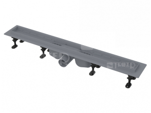 Žlab podlahový APZ12 Optimal plastový pro perforovaný rošt 750 mm