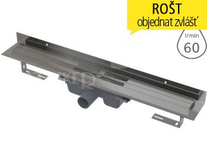 Žlab podlahový APZ16 Wall pro plný rošt 750 mm
