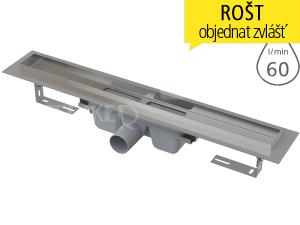 Žlab podlahový APZ6 Professional pro plný rošt 750 mm, boční odtok 50 mm
