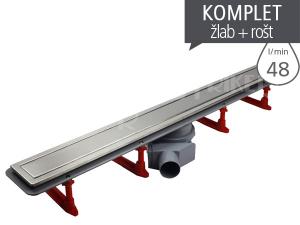Žlab podlahový Confluo Premium Line +