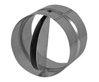 Zpětná klapka kovová Haco ZKK 125 mm, 642, Haco