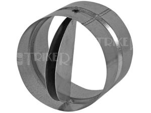 Zpětná klapka kovová Haco ZKK 100 mm