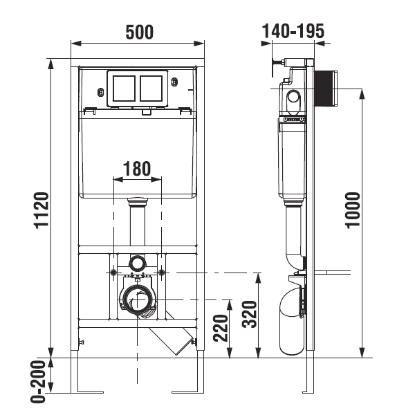 jika wc system modul pro z v sn wc do lehk ch p ek triker. Black Bedroom Furniture Sets. Home Design Ideas